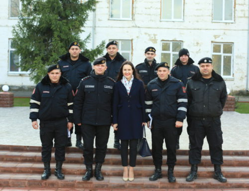 Training – Departamentul Trupelor de Carabinieri al MAI