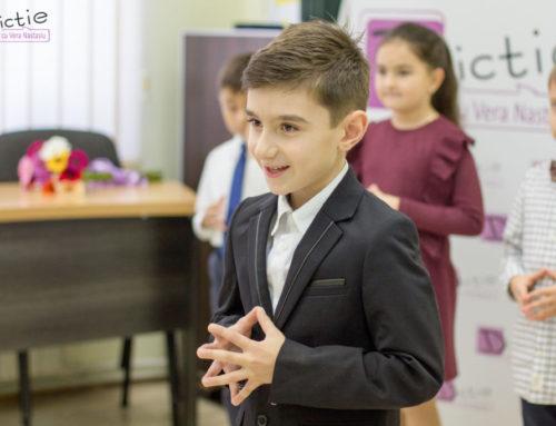 Cum să dezvolți încrederea în sine a copilului tău? Vezi recomandări de la echipa Dicție cu Vera Nastasiu