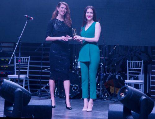 """Vera Nastasiu a fost desemnată la Gala Brilliance Review, cu titlu onorific pentru """"Excelență în dezvoltare personală 2018""""."""