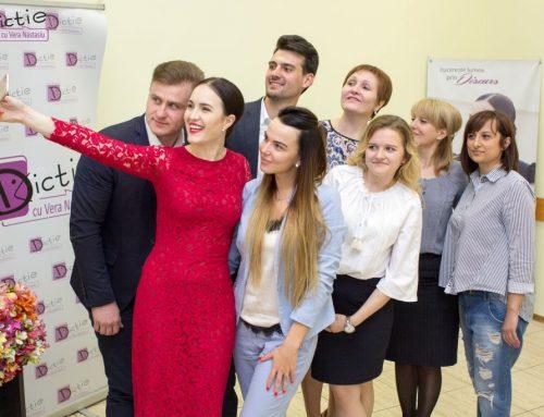 Vera Nastasiu despre vorbitul in public: Realizează că toți oamenii vor ca tu să reușești