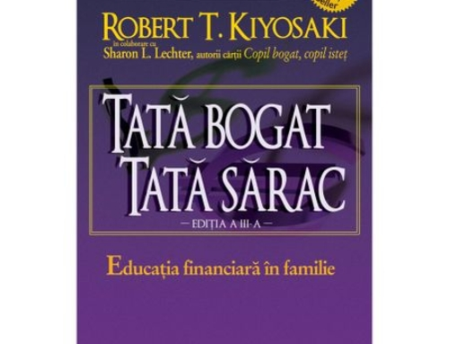 Citește cu Dictie.md și Elefant.md – Tată Bogat, Tată Sărac de ROBERT T. KIYOSAKI