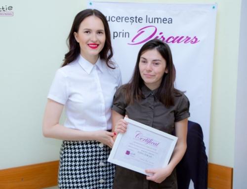 """Și-a pierdut vederea, dar s-a înscris la cursurile de dicție cu Vera Nastasiu. Un interviu cu Elena Țurcan, beneficiara Campaniei """"Dicție cu suflet"""""""