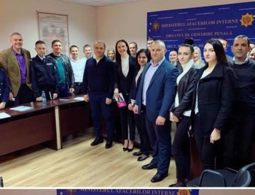 Training cu Vera Nastasiu pentru ofițerii de urmărire penală din cadrul IP Botanica