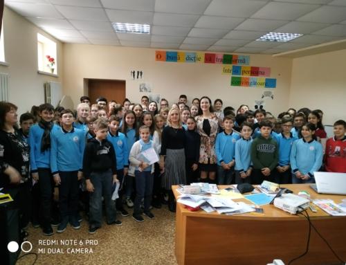 Lecție de dicție și discurs public cu Vera Nastasiu, la Liceul Orizont