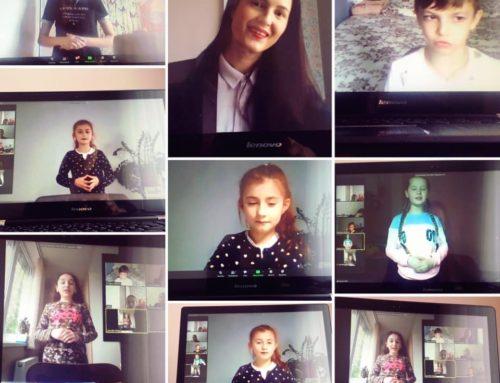 Absolvenții cursului de dicție online pentru copii MARTIE, APRILIE, MAI, 2020