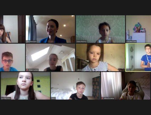 (Foto) Absolvenții Cursului Online de Dicție pentru Copii August 2020