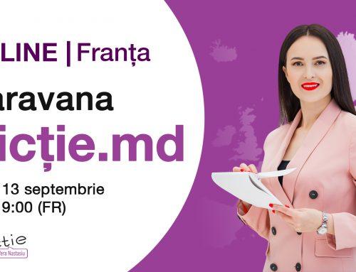 Caravana Dicție.md | Franța. Interviu cu Vera Nastasiu